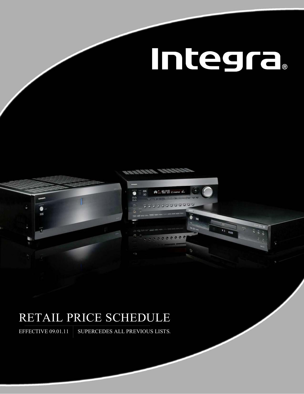 pdf for Integra Receiver DTR-7.4 manual