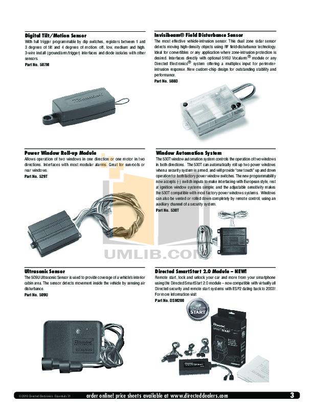 pdf manual for dei other avital avistart 4400 car alarms rh umlib com