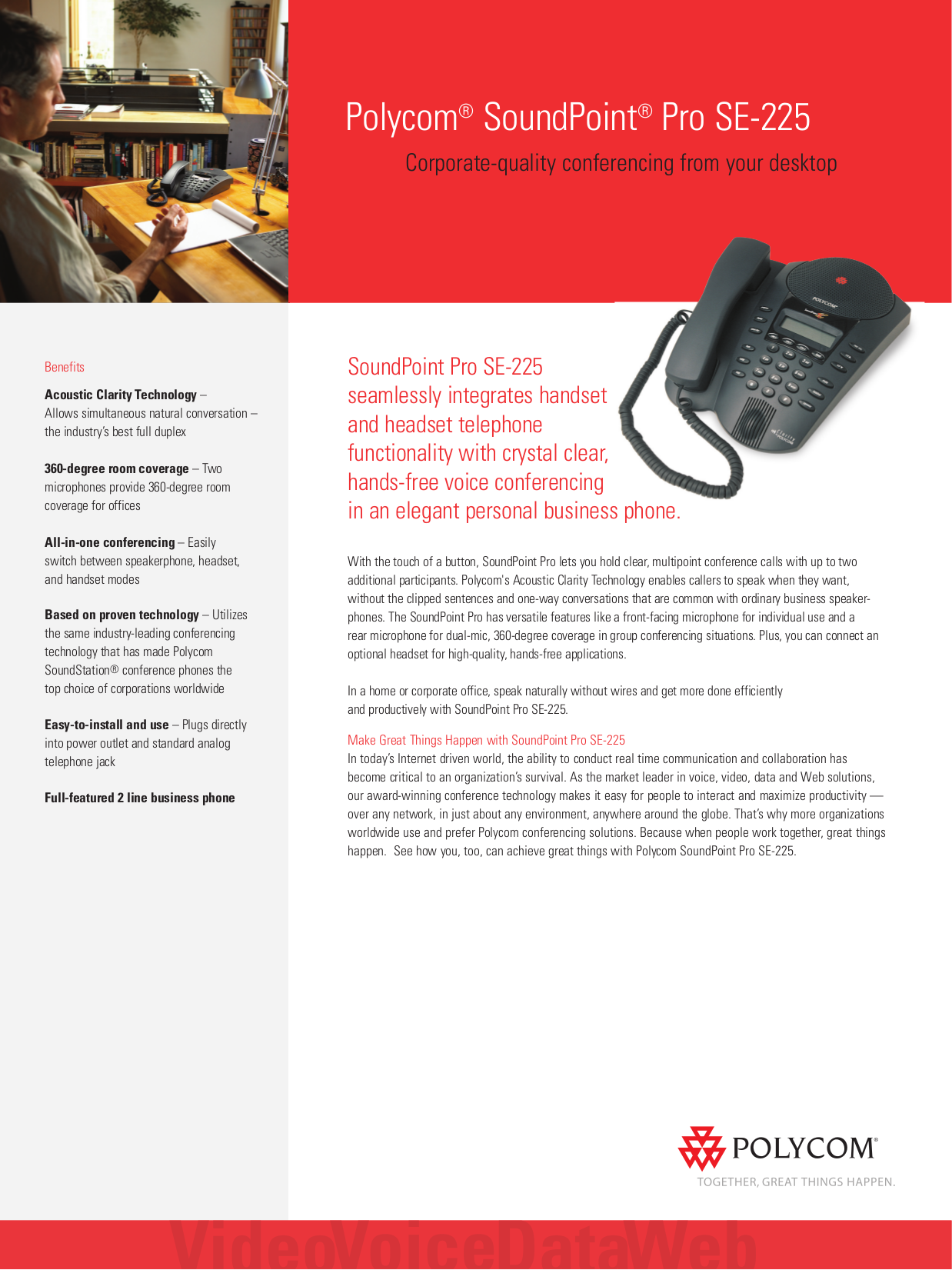 download free pdf for polycom soundpoint pro se 225 telephone manual polycom soundpoint pro user manual Polycom VVW