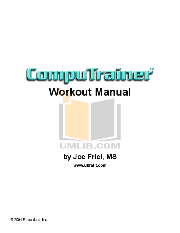 finis tempo trainer instruction manual