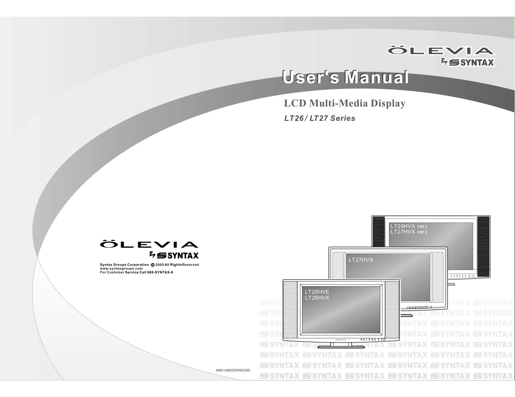 olevia tv manual user guide manual that easy to read u2022 rh sibere co olevia 232-t12 manual olevia 232-s13 manual