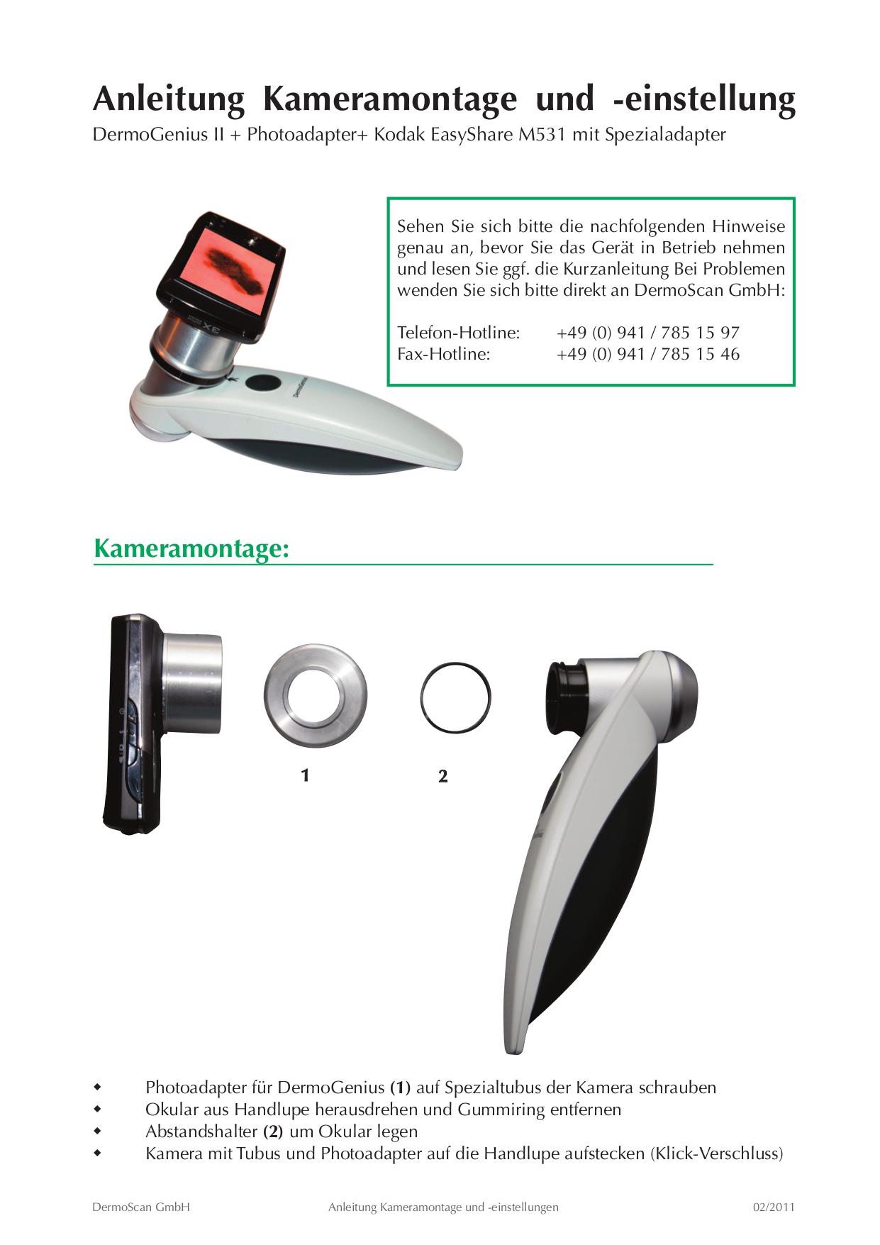 pdf for Kodak Digital Camera EasyShare M531 manual