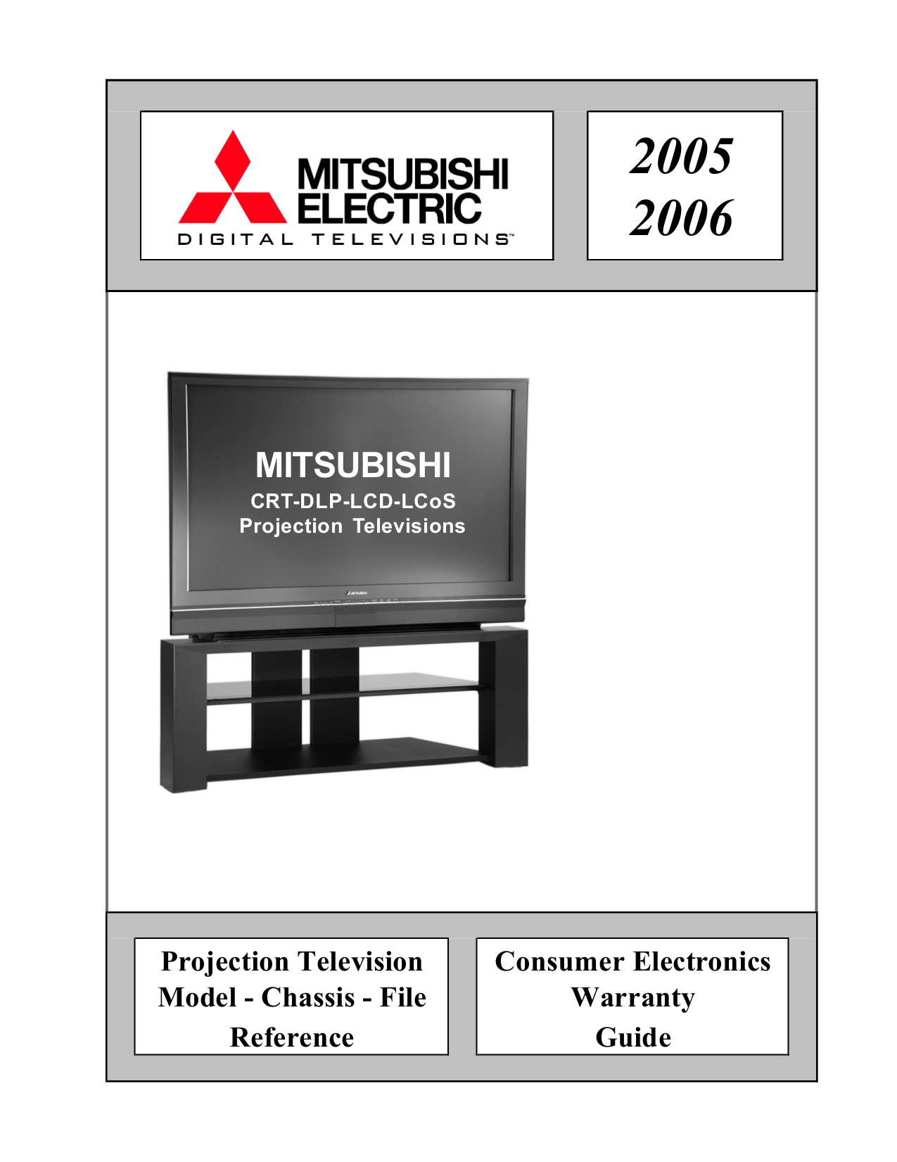 download free pdf for mitsubishi ws 65809 tv manual rh umlib com Mitsubishi Ex Mitsubishi RS