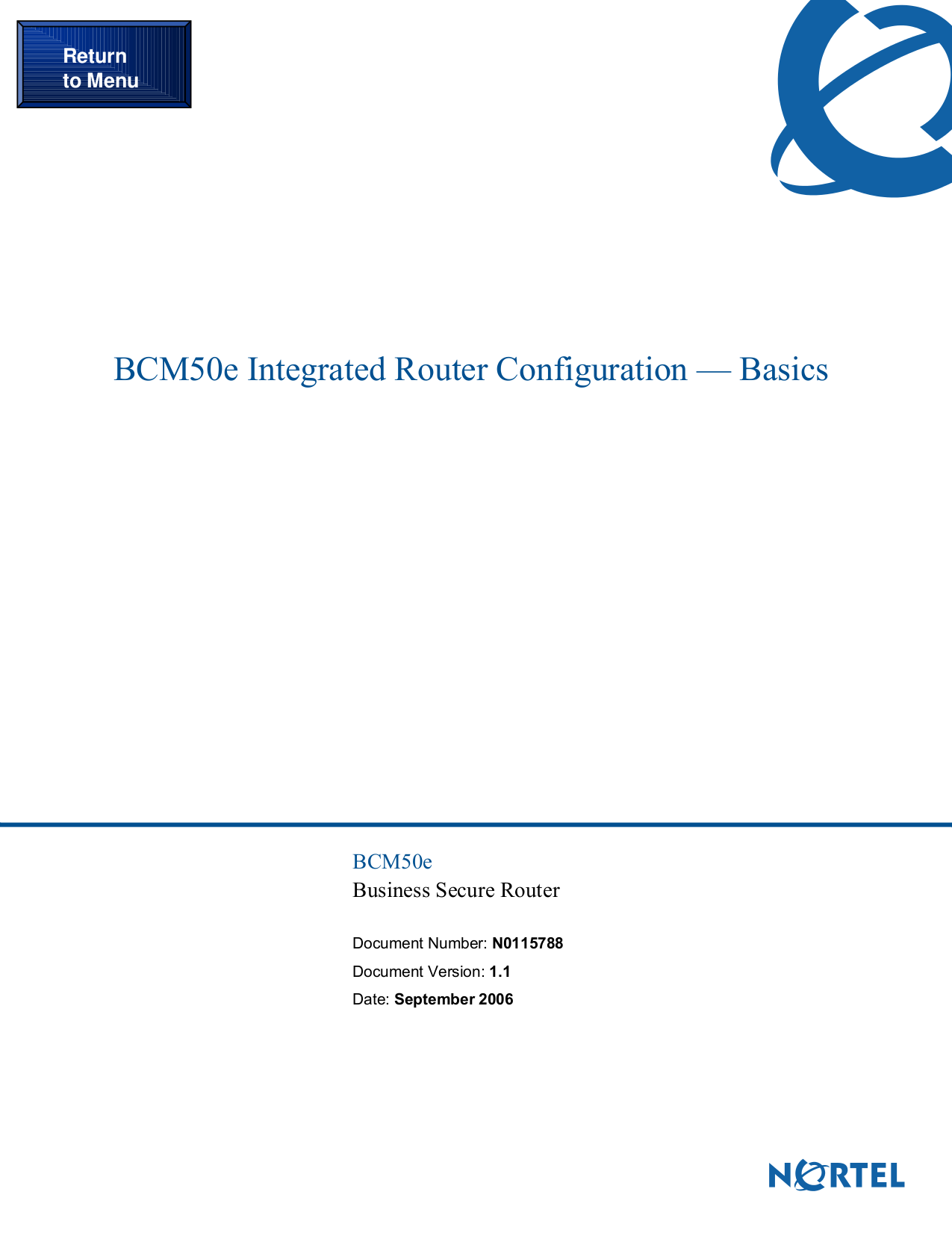 pdf for Nortel Router BLN manual