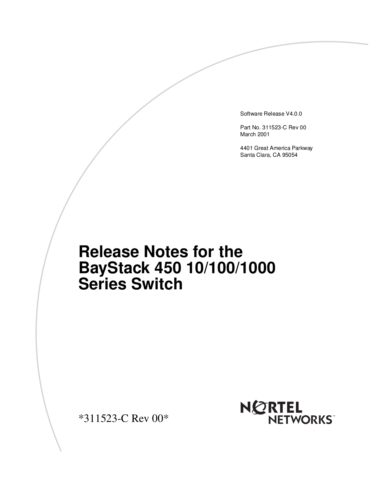 pdf for Nortel Switch BayStack 400-S manual