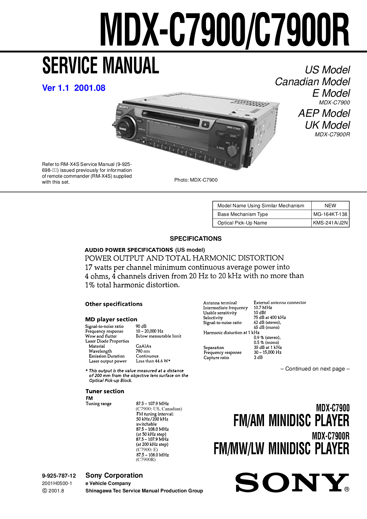 panasonic service manual free download