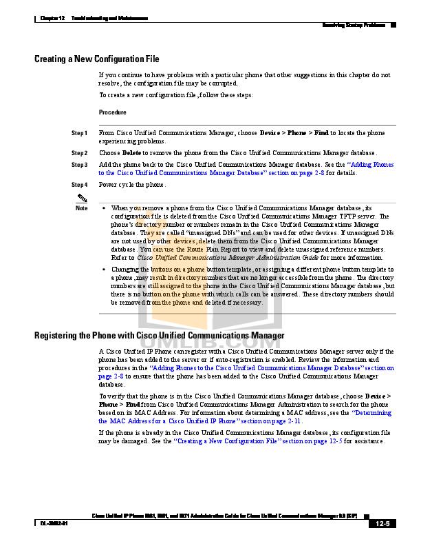 PDF manual for Cisco Telephone 9951 Standard