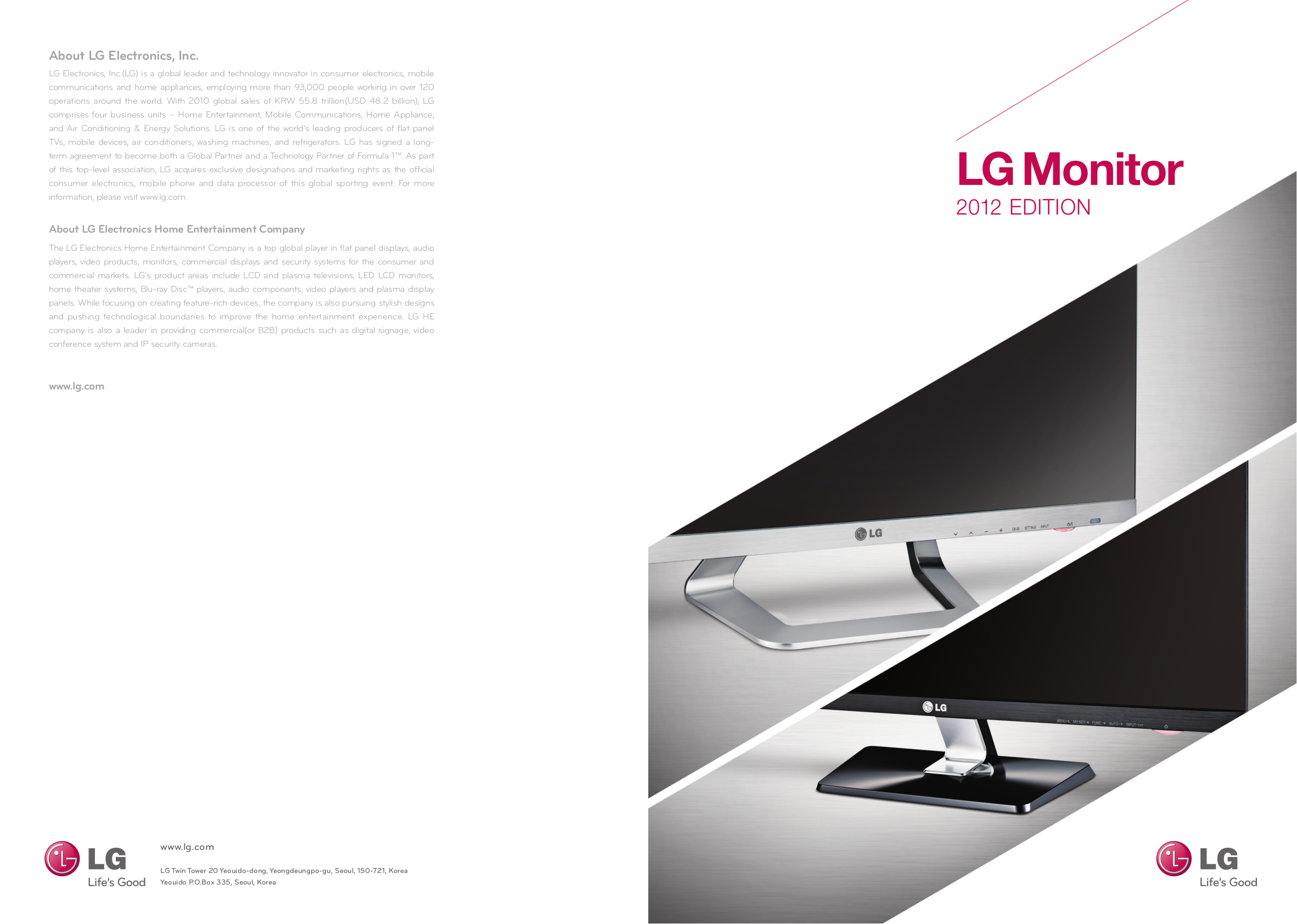 pdf for LG Monitor W2242P manual