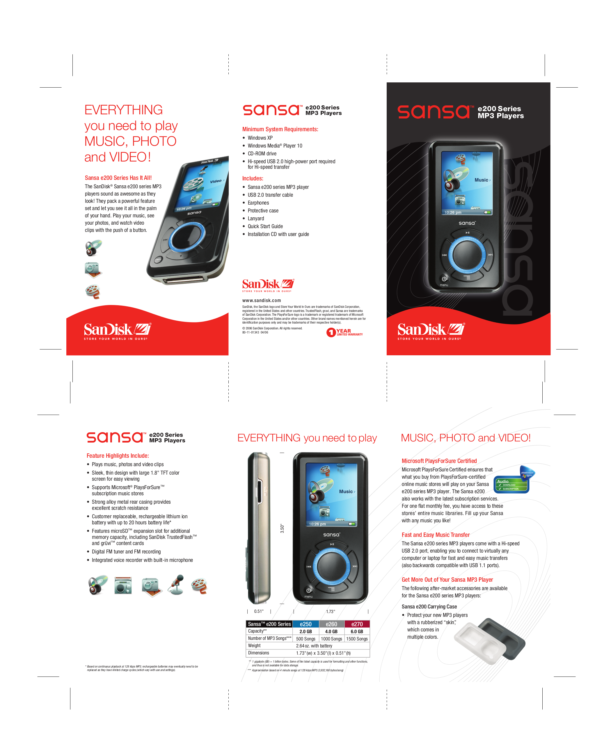download free pdf for sandisk sansa e250 mp3 player manual rh umlib com sansa mp3 e250 manual sansa e250 mp3 player manual