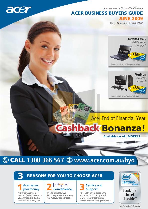 pdf for Acer Desktop Veriton M460 manual