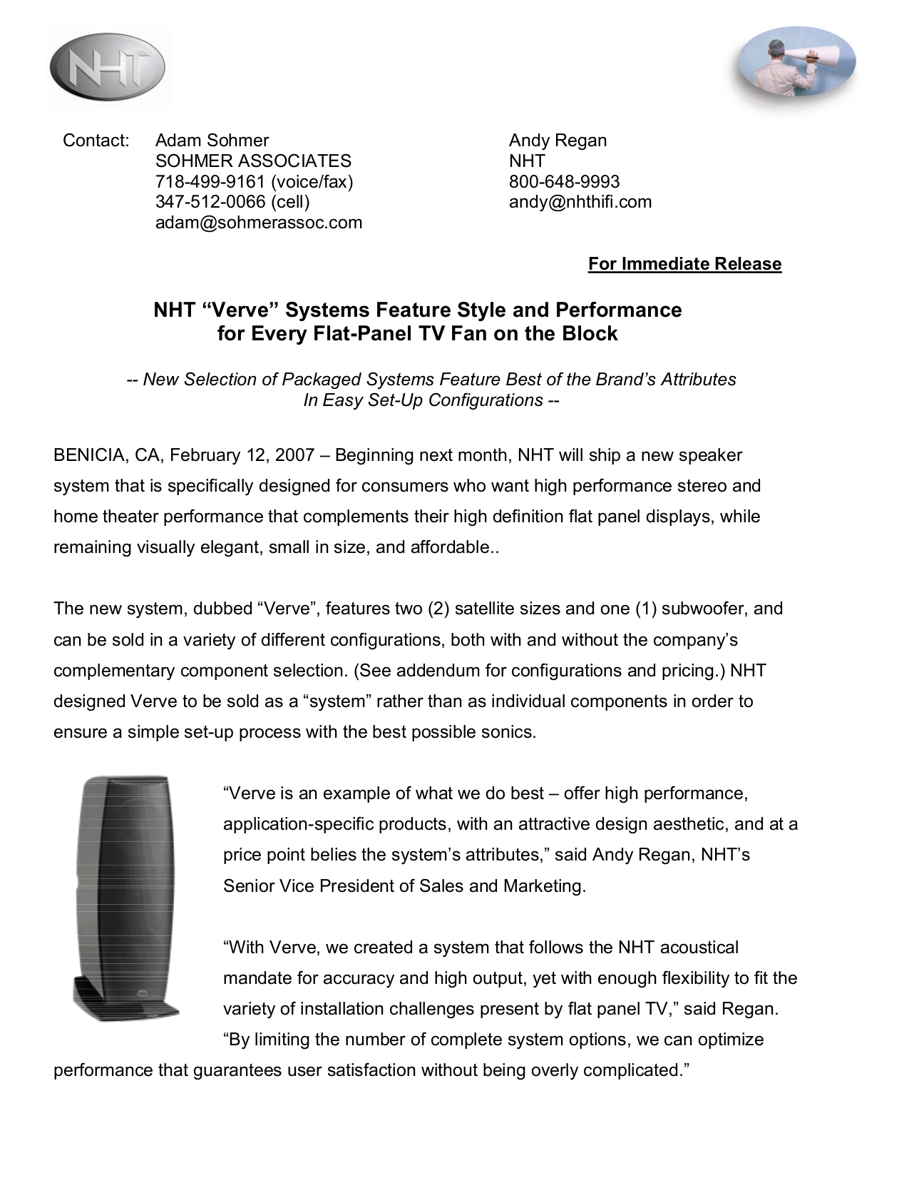 pdf for NHT Home Theater Power5 manual