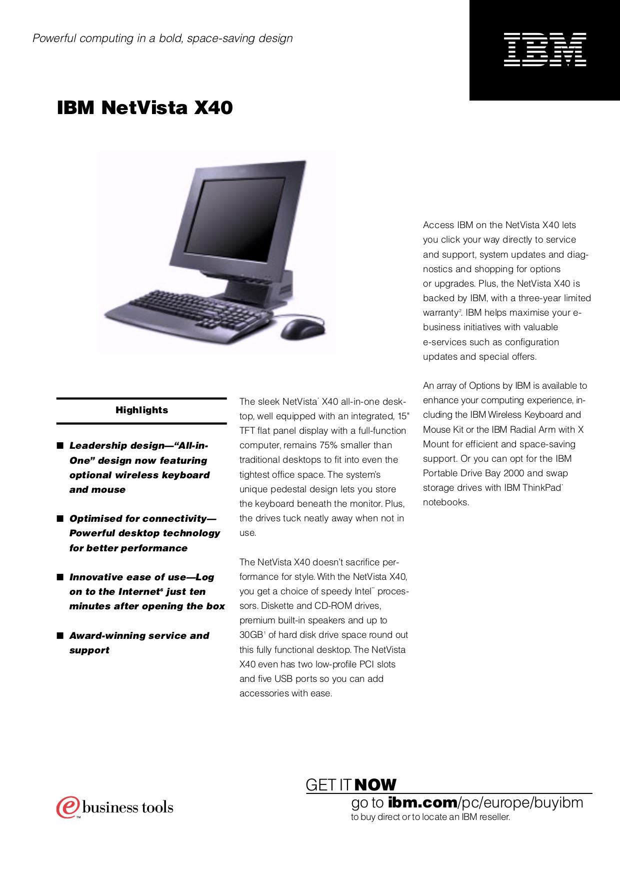 download free pdf for ibm netvista x40 desktop manual rh umlib com ibm r50e service manual Computer Manual