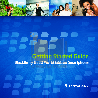 pdf for Blackberry Cell Phone 8830 manual
