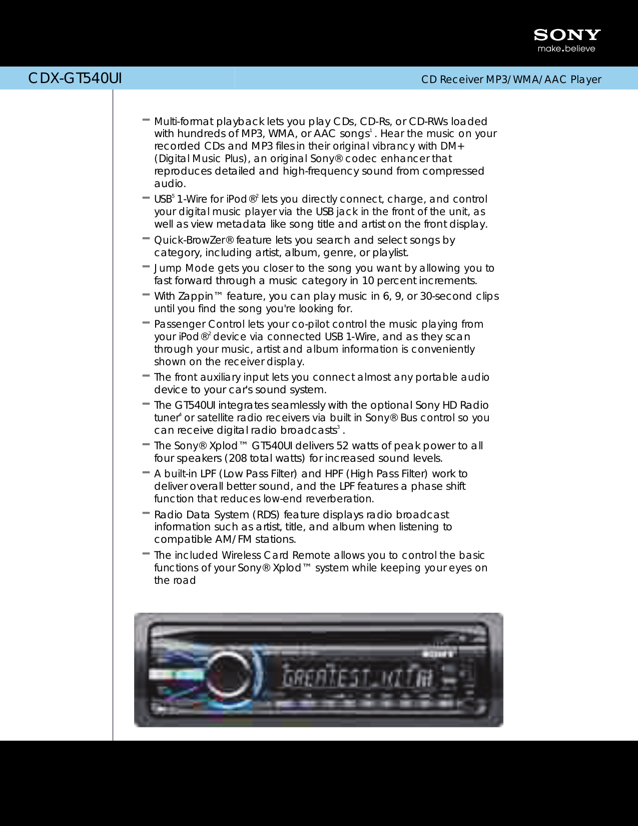 Sony Xplod Cdx Gt270s Manual Gt500 Wiring Diagram Retrevo