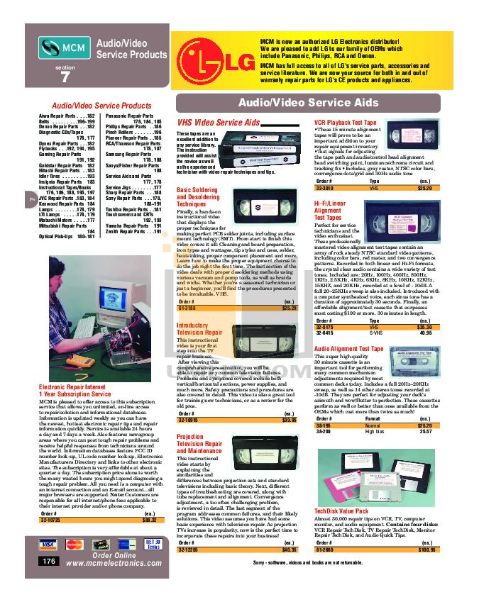 pdf for Hitachi TV 50C10 manual