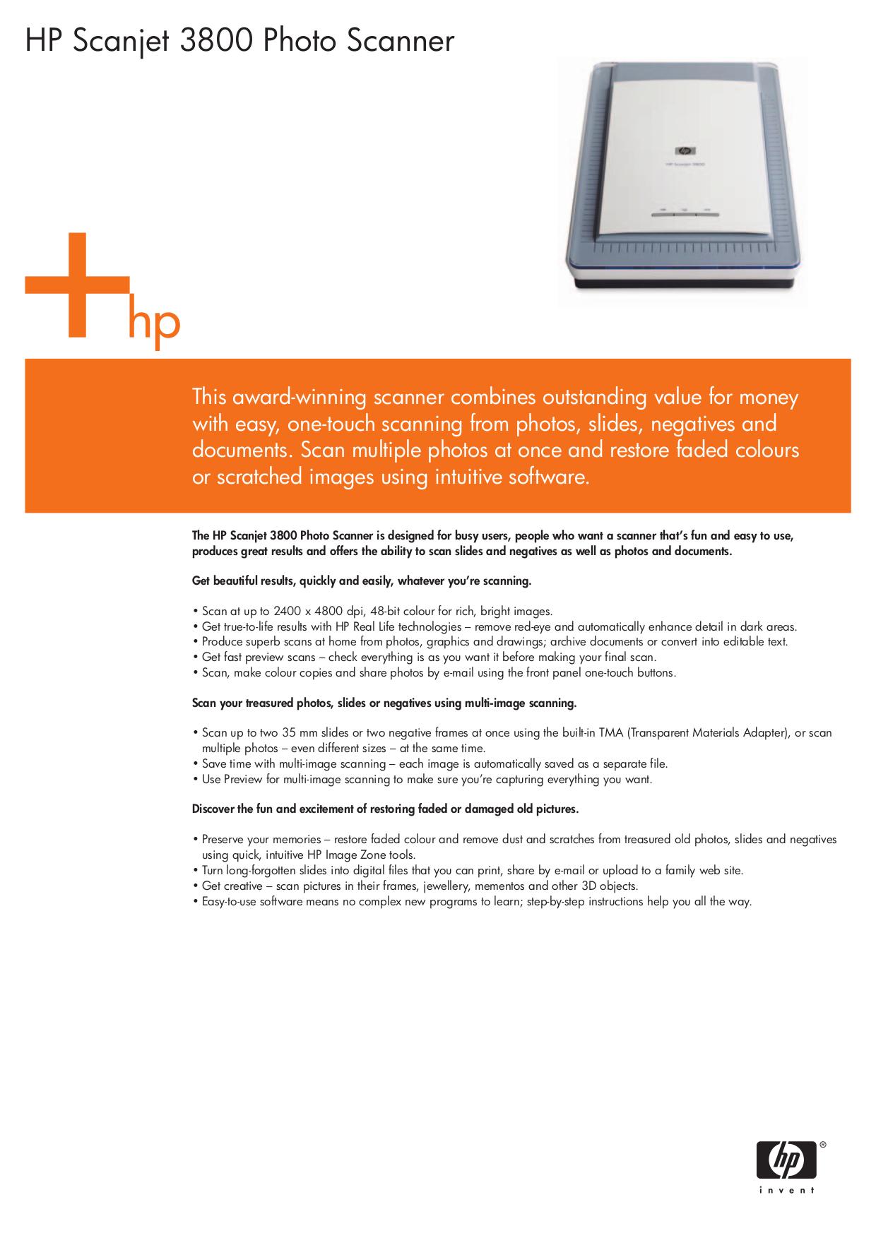 download free pdf for hp scanjet 3800 scanner manual rh umlib com HP Scanjet 7000 HP Scanjet 8250