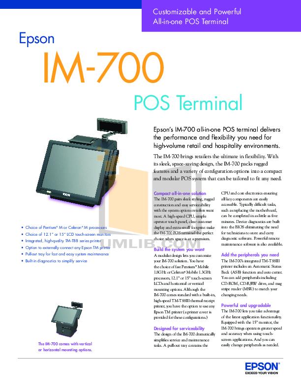 download free pdf for epson im 700 desktop manual rh umlib com epson ir 700 manual epson v700 manual