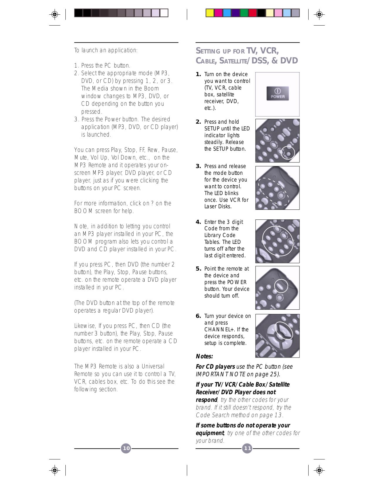 X10 Remote Control VK47A pdf page preview
