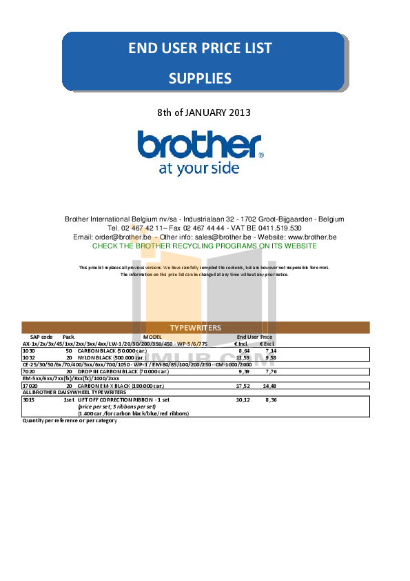 Download Free Pdf For Brother Ce