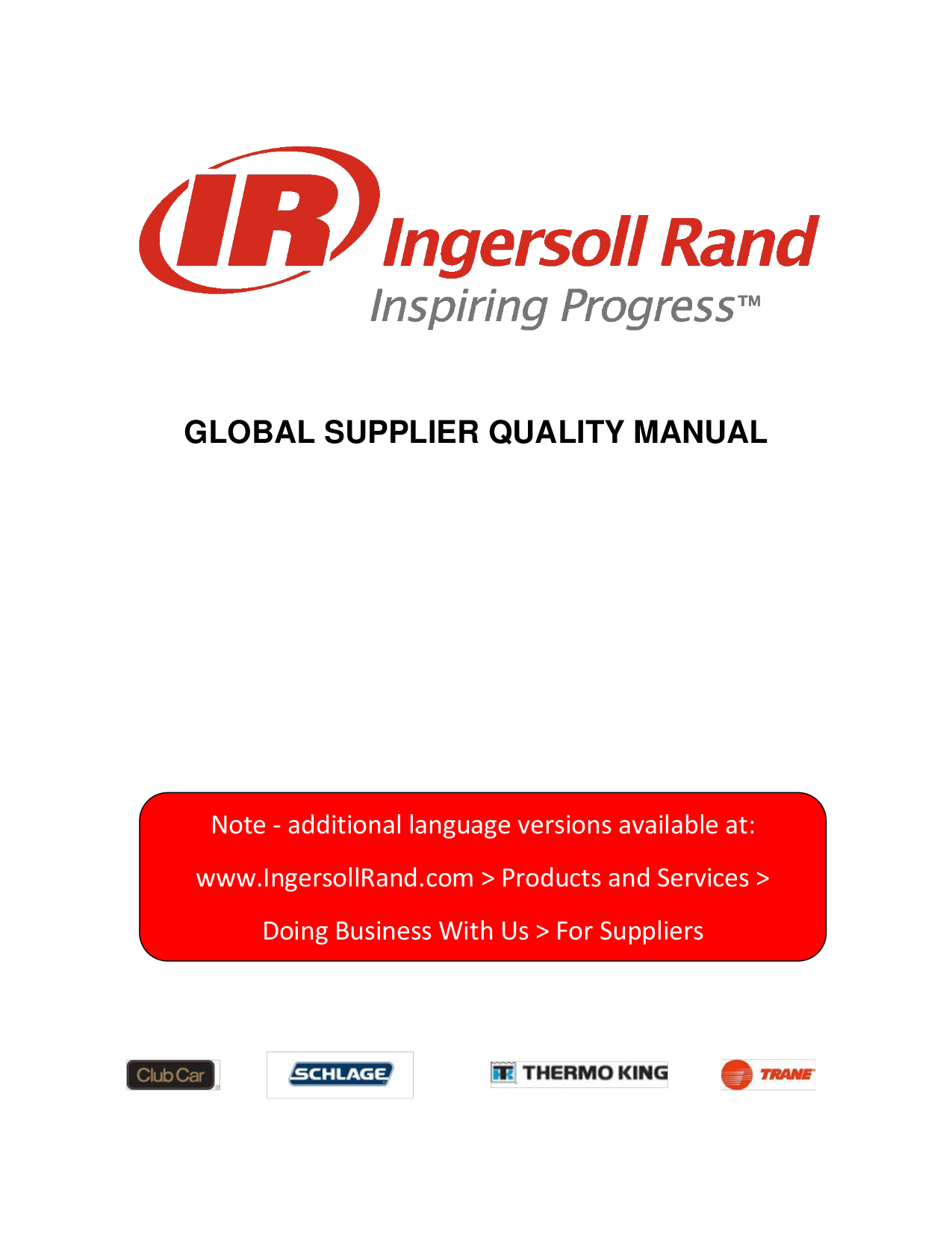 pdf for Hussmann Other Ingersoll Rand Wireless Computer manual