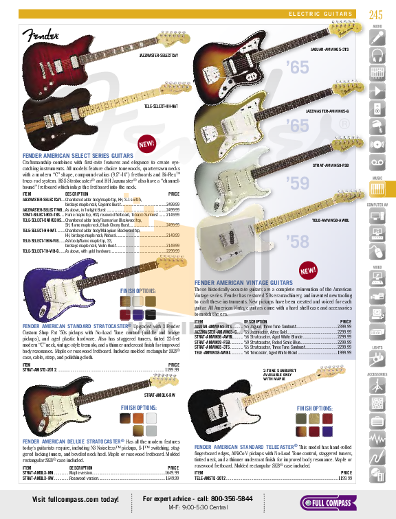 pdf for fender guitar lone star stratocaster manual