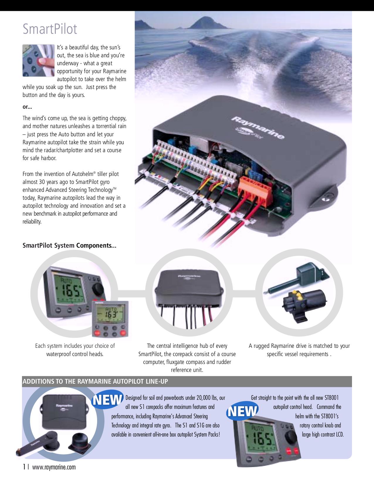 PDF manual for Raymarine GPS ST600R