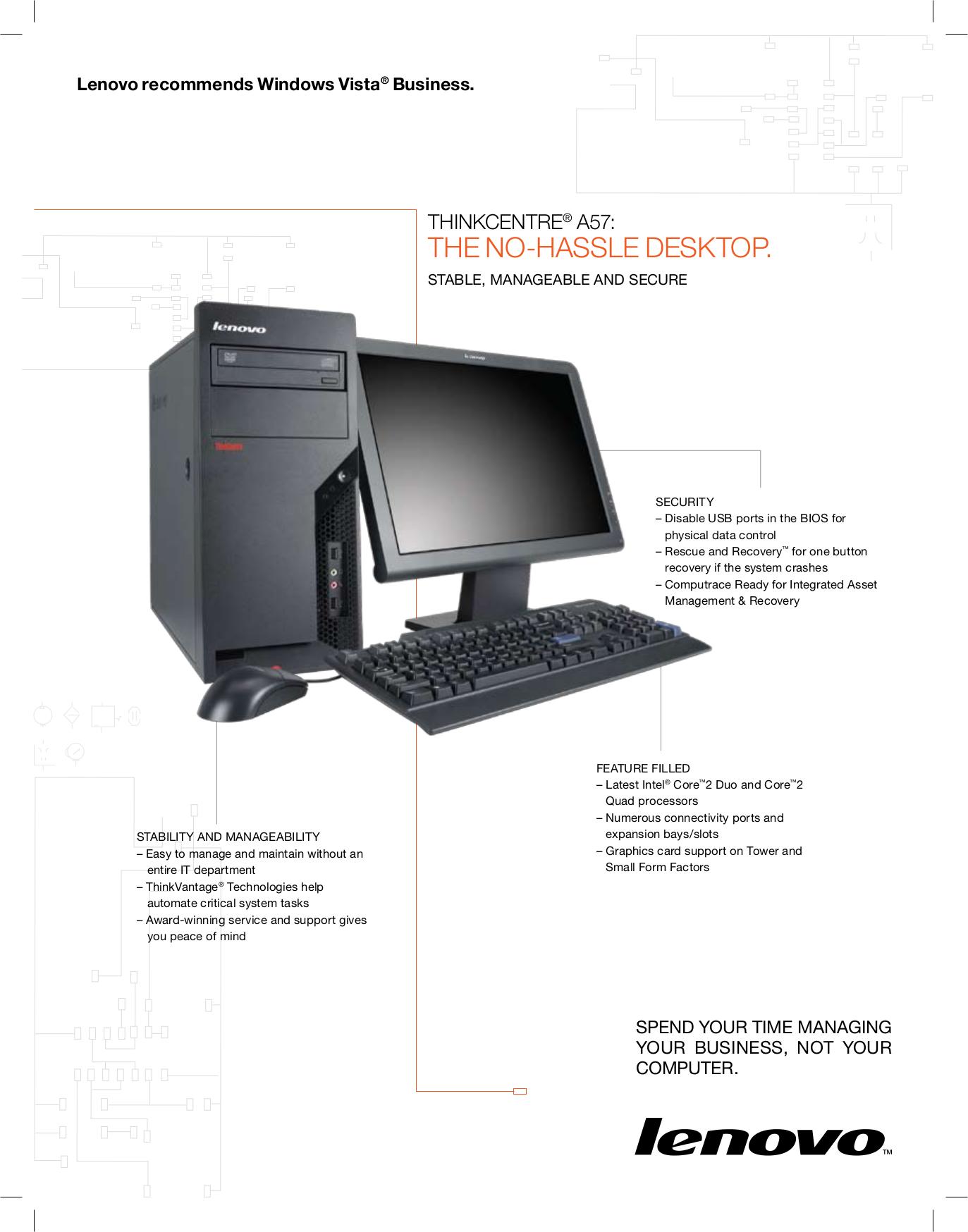 pdf for Lenovo Desktop ThinkCentre A57 9702 manual