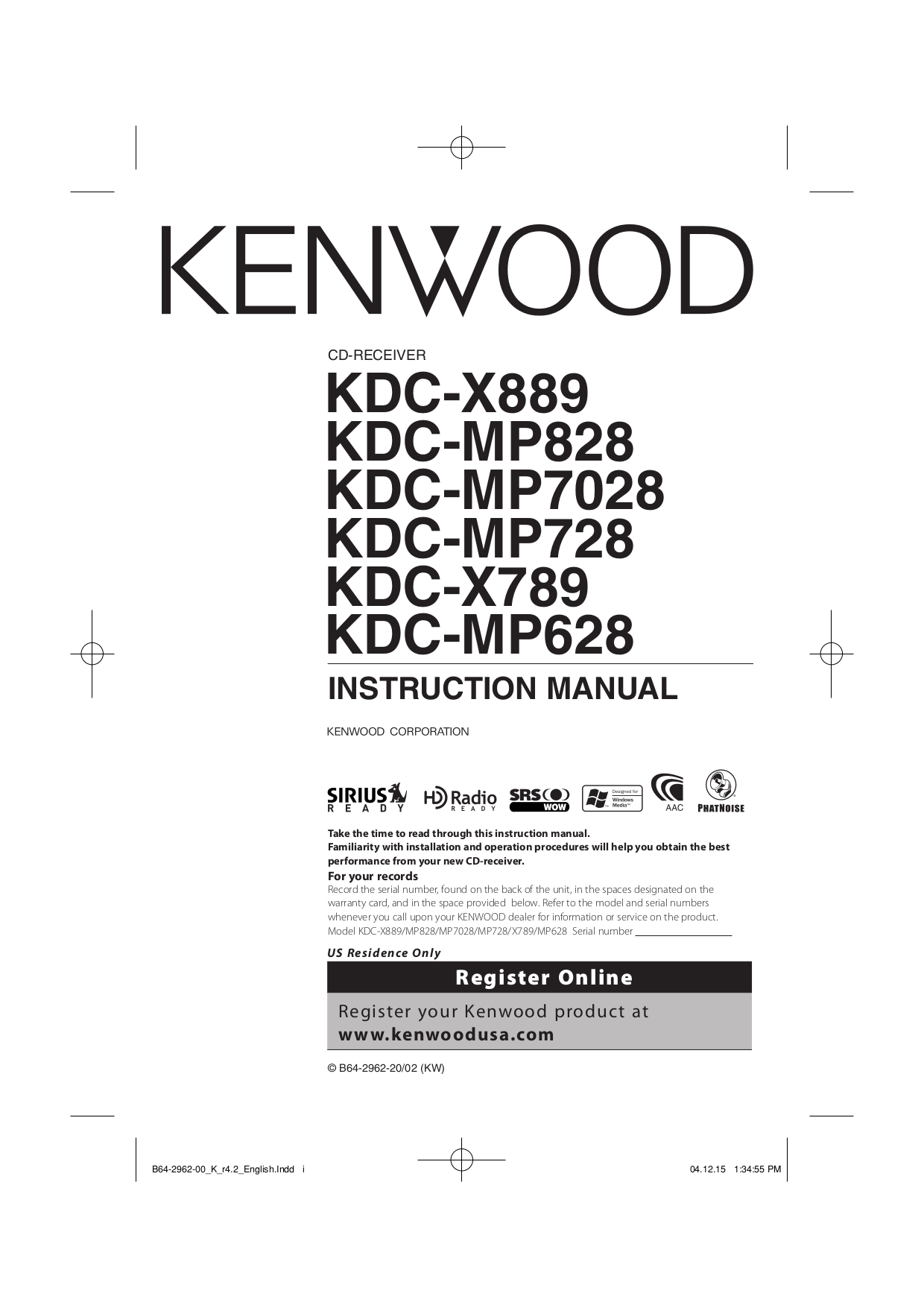 kenwood kdc w3037 manual  full version free software