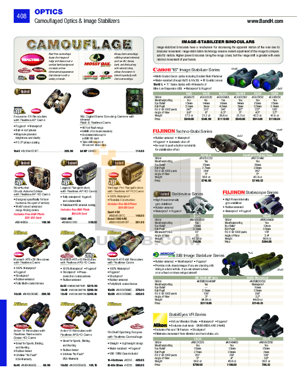 pdf for Atn Binocular Omega 7X50C manual