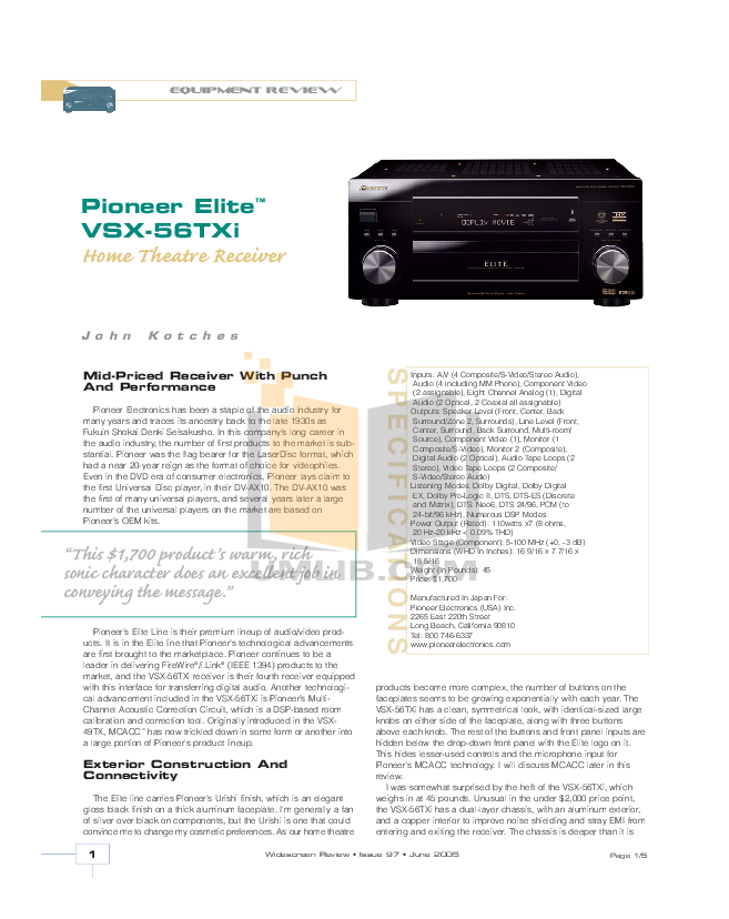 download free pdf for anchor bea 6000 home theater manual rh umlib com Theater Manuqal Theater Manuqal