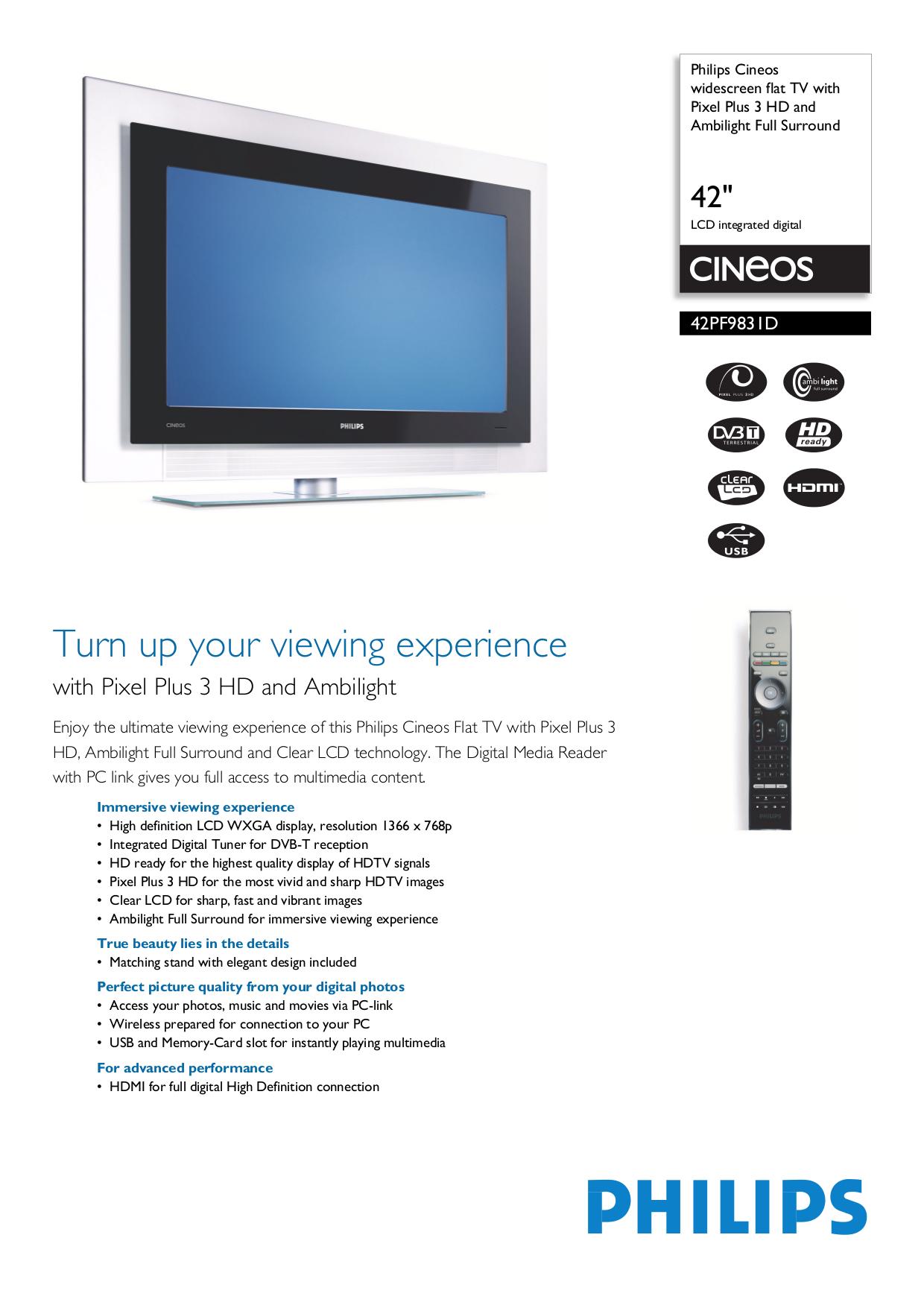 philips 42 lcd tv manual daily instruction manual guides u2022 rh testingwordpress co Philips Flat Screen TV Philips Flat Screen TV
