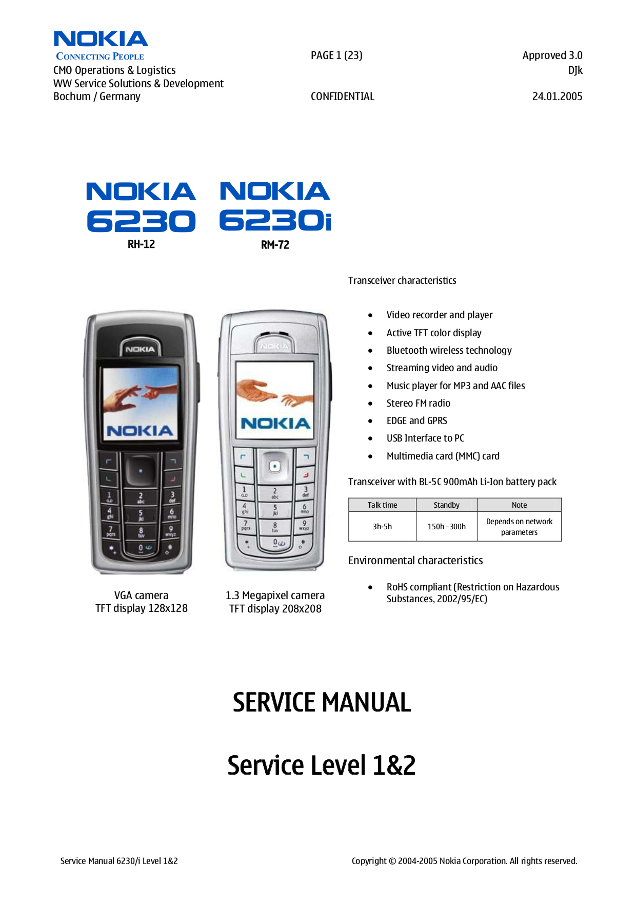 download free pdf for nokia 6230i cell phone manual rh umlib com nokia 6230 manual download nokia 6230i manuale
