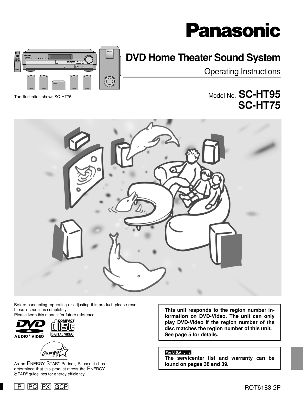 Panasonic manual pdf pdf for panasonic home theater sc ht95 manual fandeluxe Images