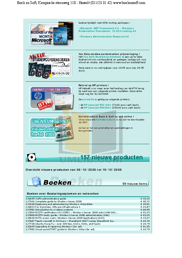 Acer Desktop Veriton M264 pdf page preview