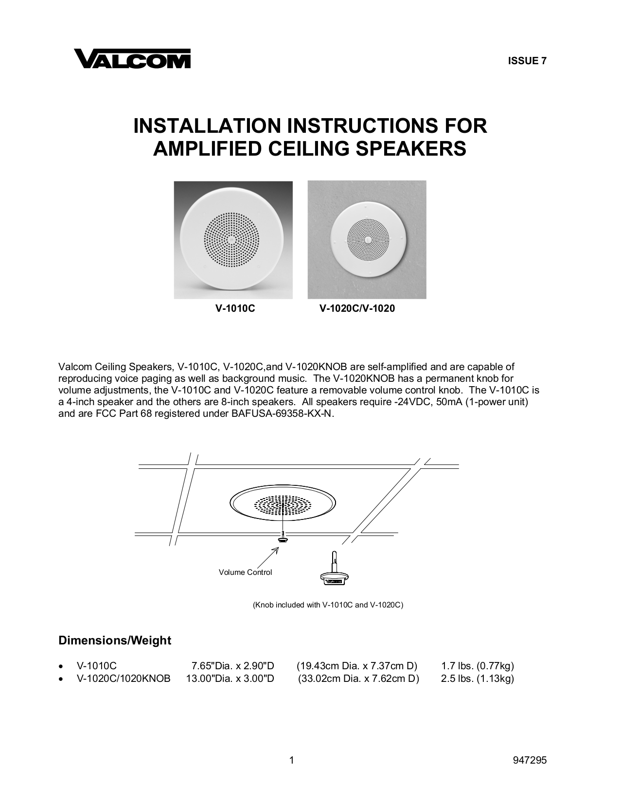 amplifiedceilspkr.pdf 0 download free pdf for valcom v1020c speaker manual valcom v 1020c wiring diagram at cos-gaming.co