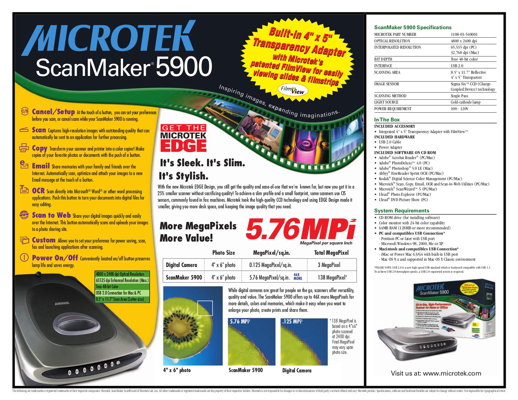 Scanmaker 3840