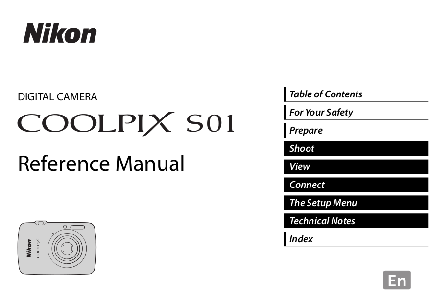 pdf for Nikon Other EH-54 Camera AC Adapter manual