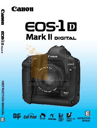 pdf for Canon Digital Camera EOS 1D manual