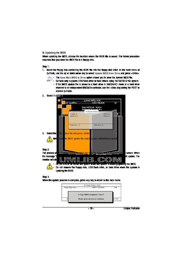 PDF manual for Gigabyte Other GA-EX58-EXTREME Motherboards