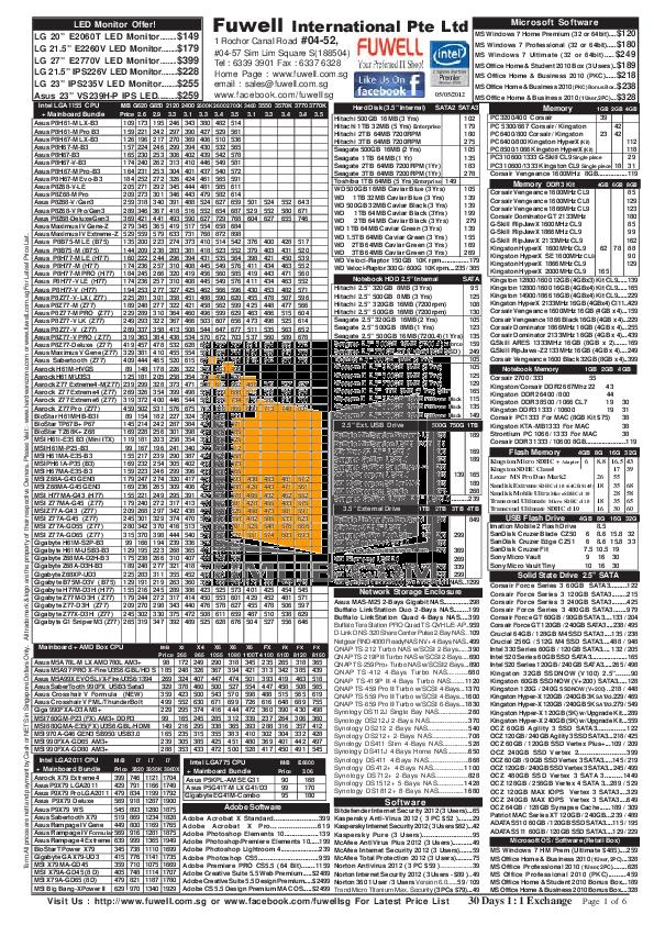 pdf for Asus Monitor VE208T manual