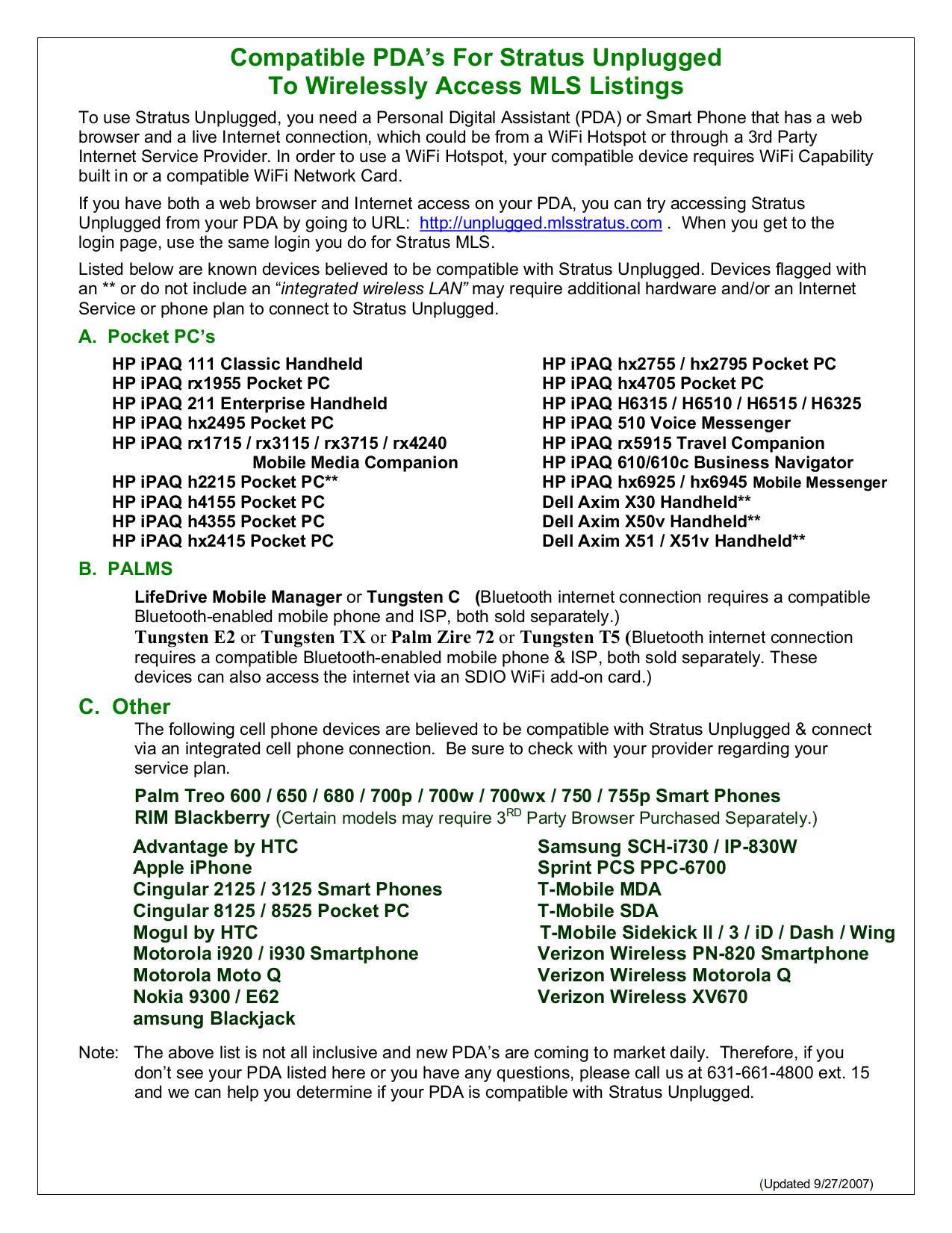pdf for HP PDA iPAQ hx4705 manual