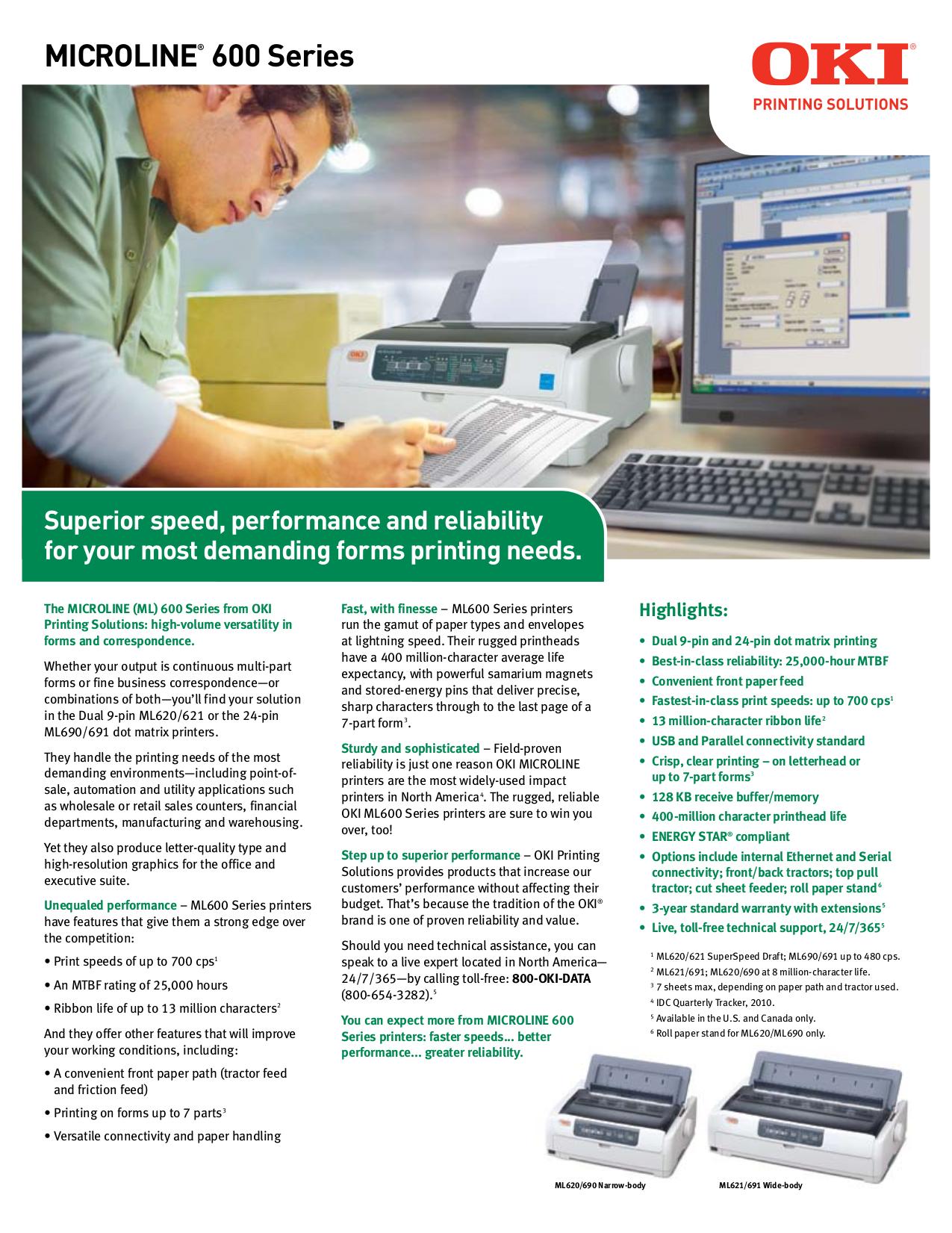 download free pdf for oki microline ml620 printer manual oki mc342 printer manual oki b4400 printer manual