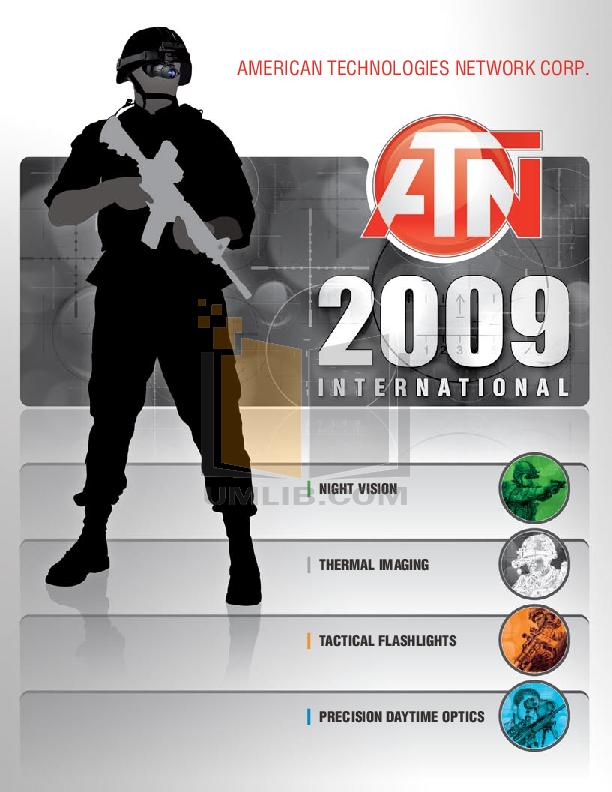 pdf for Atn Binocular Night Scout manual