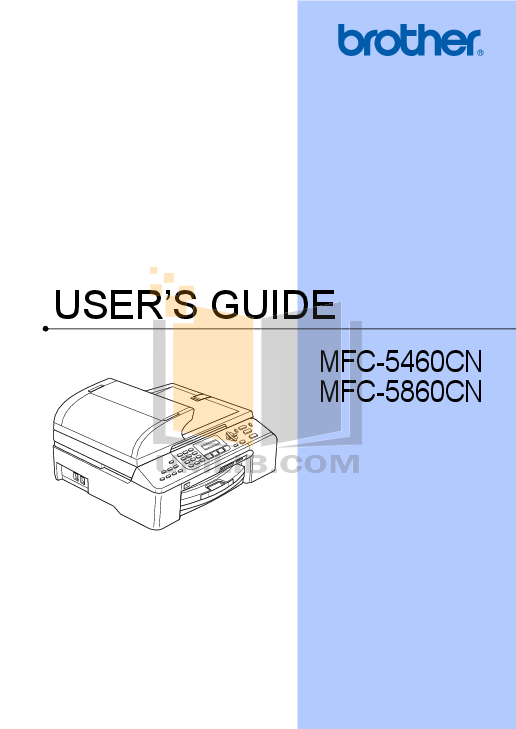 pdf for Brother Fax Machine FAX-255 manual