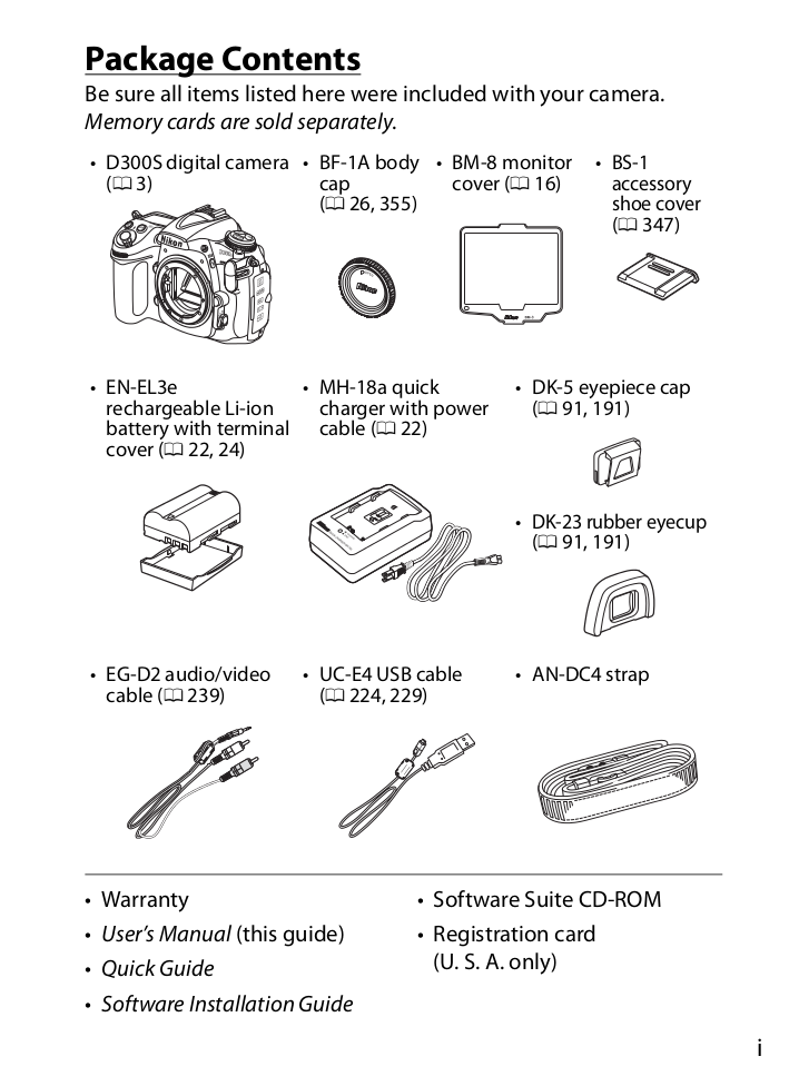 Nikon Other MH-18a Camera Battery Charger pdf page preview