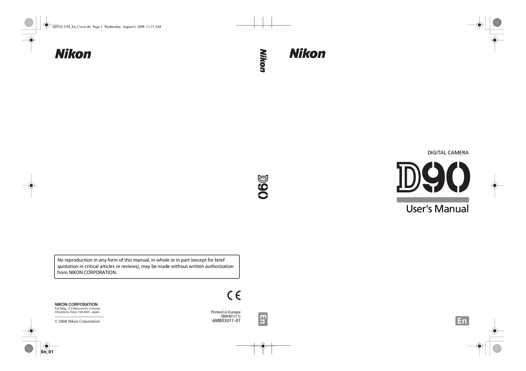 pdf for Nikon Other MH-18a Camera Battery Charger manual