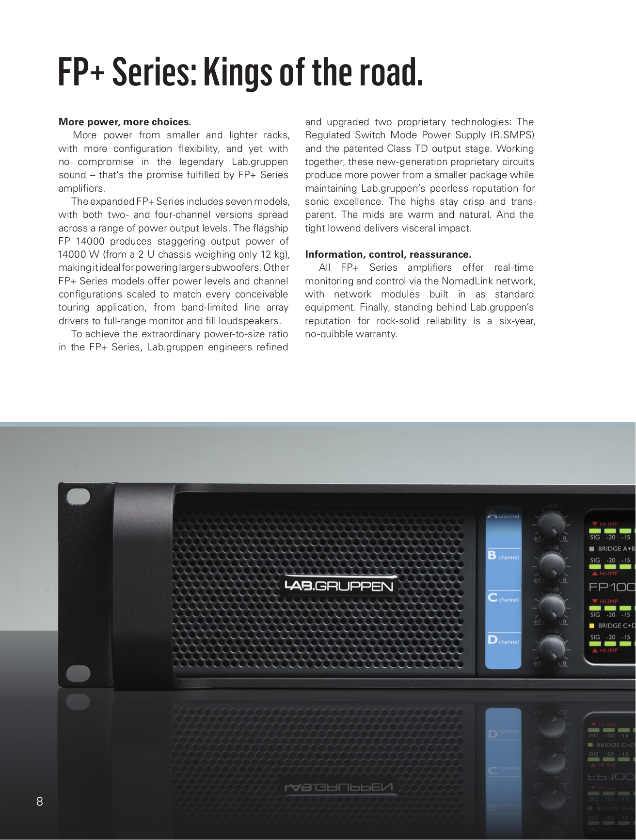 Lab.gruppen Amp C Series C 5 4X pdf page preview