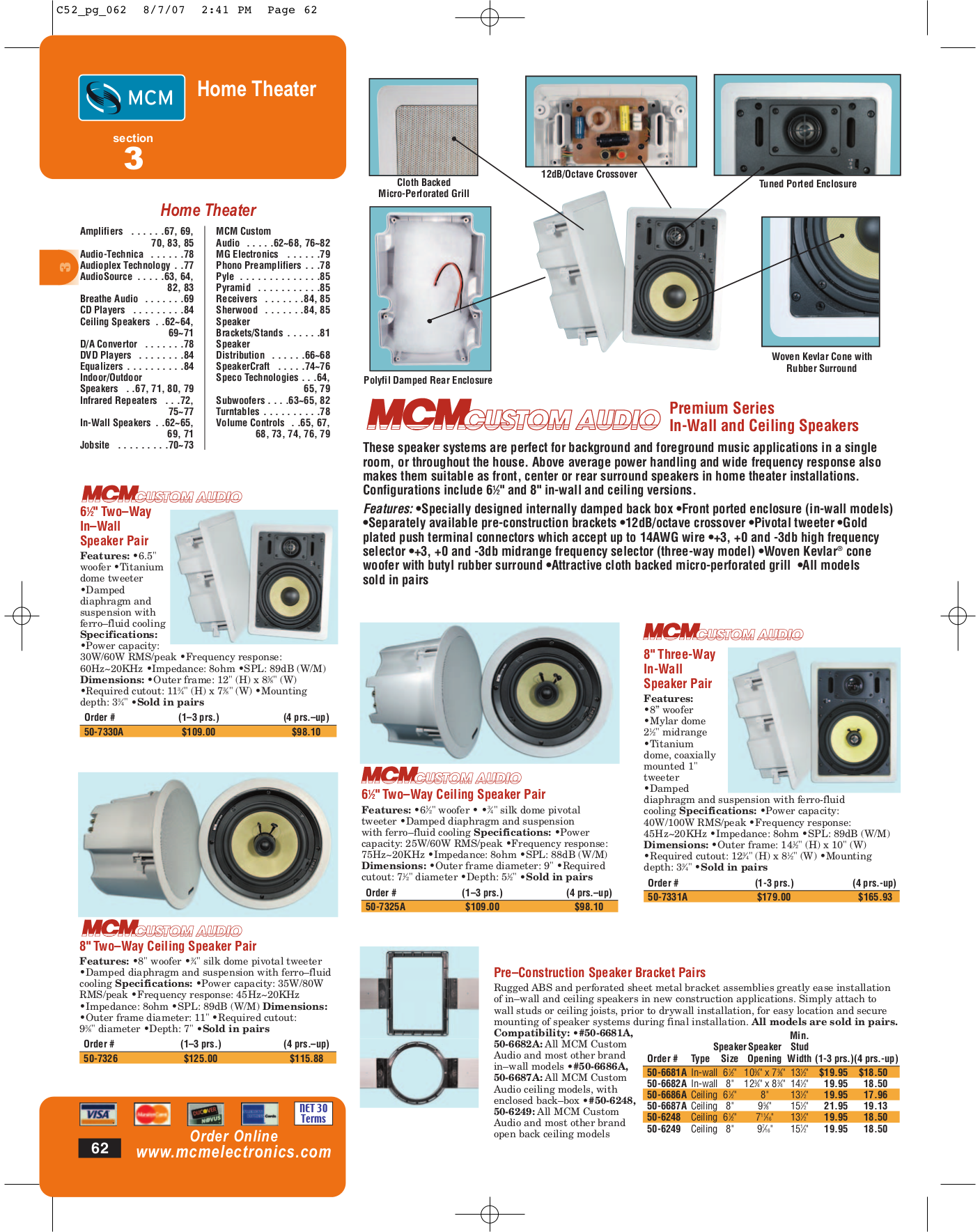 pdf for Niles Speaker LSR6 manual