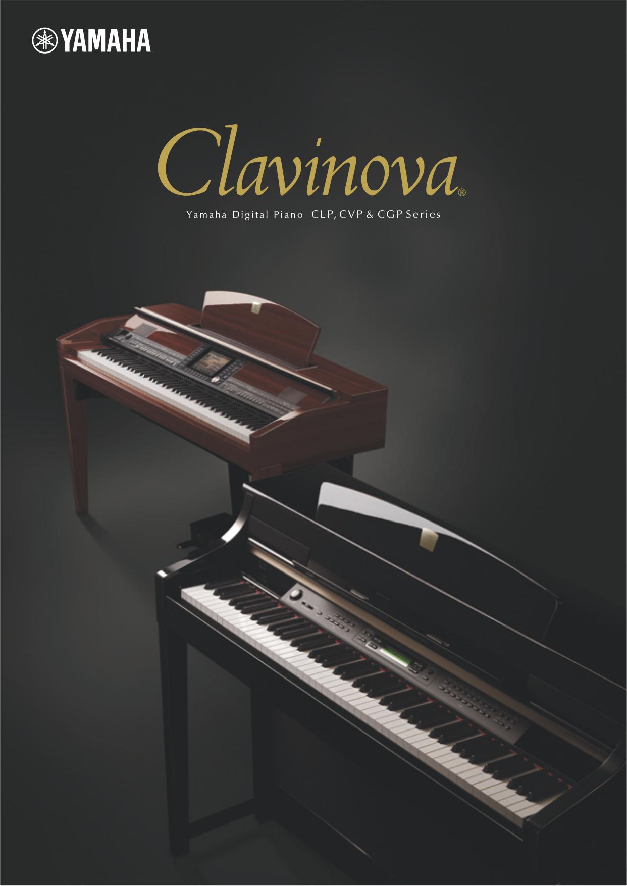 Download free pdf for yamaha clp 295gp music keyboard manual for Yamaha clp 295