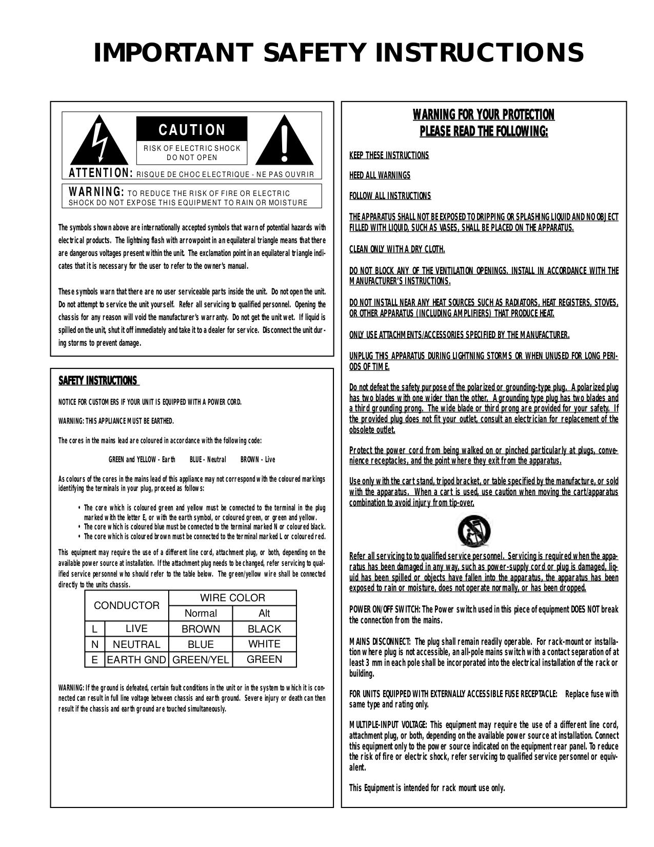 PDF manual for Yamaha Speaker System C115V